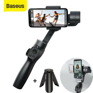 Baseus 3-Axis Gimbal Stabilizer Handheld for Vlog iPhone Samsung Huawei w/Tripod