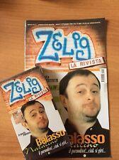 NATALINO BALASSO  ZELIG VHS SIGILLATA + RIVISTA nr 5  RARA