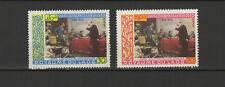 Royaume du Laos  2 timbres non oblitérés 1970 Lénine  /T2754