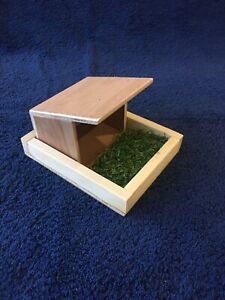 Toy farm wooden building shed pig sty barn handmade animals