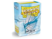 Matte Sky Blue 100 ct Dragon Shield Sleeves Standard FREE SHIPPING! 10% OFF 2+