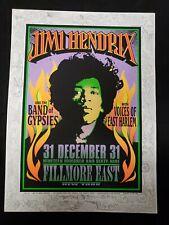 Rare Mark Arminski 1996 Fillmore East 1969 Jimi Hendrix Poster Art Rock As Pic'D