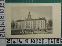1851 ANTIQUE LONDON PRINT ~ THE NEW CONSUMPTION HOSPITAL VICTORIA PARK