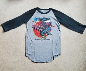 Judas Priest Screaming for Vengeance concert jersey t-shirt  free shipping!