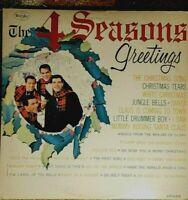 THE 4 SEASONS 'SEASONS GREETINGS' ORIGINAL LP VINYL  ALBUM