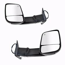 Left+Right 2009-2017 Dodge Ram Pickup Power Heated Puddle/Signal Towing Mirrors