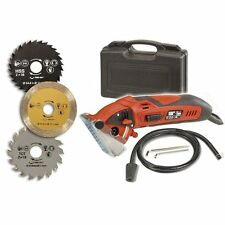NEW Circular Saw Rotorazer 400 Watt 3 Blades Drywall Ceramic Tile Wood