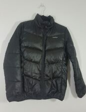 WED'ZE Men's Jacket Parka Size Small Black Padded Long Sleeve Pockets Wedze