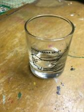 JIM BEAM Susquehanna Valley BOTTLE SPECIALTIES CLUB DOUBLE SHOT GLASS 8TH ANNIV