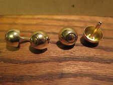 Gibson-TKL ball feet case studs for vintage guitar case luthier repair project l