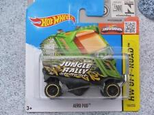 HOT WHEELS 2015 # 104/250 AERO Pod Verde Giungla RALLY CASE M nuova colata 2015