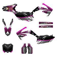2010 2011 2012 2013 CRF 250 R graphics Honda 250R sticker kit NO7777 Pink