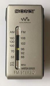 Sony Walkman SRF-S84 Pocket Portable Compact AM/FM Radio Mega Bass