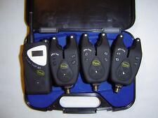 TFG Reaction Alarm Set 3+1 Funkbissanzeiger Bissanzeiger Funk Carp UVP 119,99€