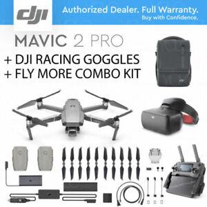 NEW DJI MAVIC 2 PRO / HASSELBLAD Camera + FLY MORE COMBO KIT + DJI RACING GOGGLE