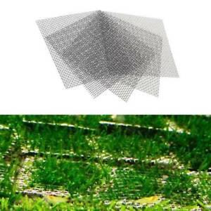 10x Aquarium Stainless Steel Wire Mesh Pad Water Plants Tank Moss Net Mat Decor