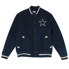 Dallas Cowboys Mitchell & Ness In The Stands Varsity Jacket L