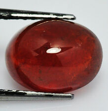 BRILLANTE SPESSARDITE GENUINA INTRATTATA CT. 9,87 OVALE CABUCHON