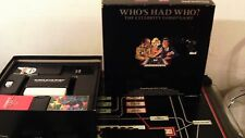 RARE OBSCURE CELEBRITY VINTAGE BOARD GAME WHO'S HAD WHO ? BY PARADIGM GAMES LTD