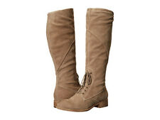 NIB Seychelles Womens Suede (Beige)/ Leather(Black) Mid-Calf Boots Size7, $230