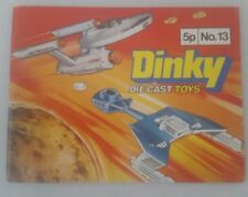 Dinky Toys Catalogue No. 13 1977 - dinky toys booklet 1977 NO 13