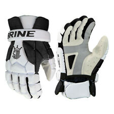 Brine King Superlight 3 Lacrosse Lax Gloves - Black, White (New) Lists @ $120
