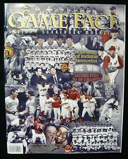 Cleveland Indians 1999 GameFace Magazine CENTURY OF MEMORIES Final Game 10.3.99