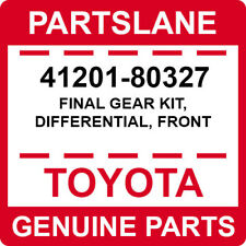 41201-80327 Toyota OEM Genuine FINAL GEAR KIT, DIFFERENTIAL, FRONT