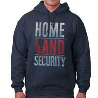 Homeland Security Patriotic USA 2nd Amendment Hoodies Sweat Shirts Sweatshirts