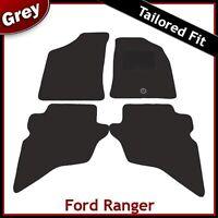 FORD RANGER Mk1 1999-2006 Tailored Carpet Car Floor Mats GREY