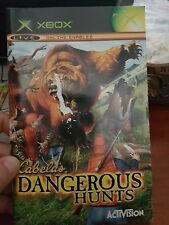 BOOKLET/MANUAL ONLY FOR CABELA'S DANGEROUS HUNTS XBOX (NO GAME)-  FREE POST