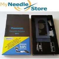 NEW VHS-C to VHS Player Motorized Cassette Adapter for JVC,RCA,Panasonic + More