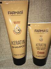 FARMASI Professional Series KERATIN Shampoo & Hair Mask Set NEW!  FREE SHIPPING
