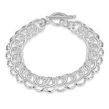 T-O Bracelet For Women H022 Fashion 925Sterling Solid Silver Jewelry Circel