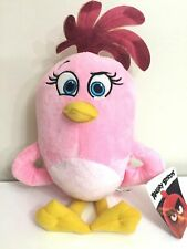 """LARGE 12"""" PINK ANGRY BIRDS STELLA PLUSH TOY .LICENSED SUPER SOFT. NEW."""