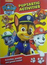 Paw Patrol Colourful Activity Book. Puptastic Activities (Fun Puzzles)