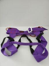 Vintage Chouinard Caving/Climbing Harness Size: Medium Purple Has Gear Loops