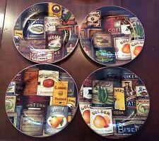 David Carter Brown Collection Homestead Pantry Sakura  Salad Dessert Plates