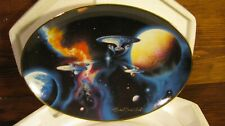 Star Trek Plate Collectable Hamilton Collection 1996