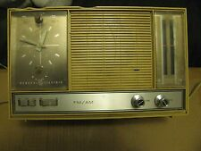 Vintage GE FM/AM Clock Radio Model C2511H Reduced