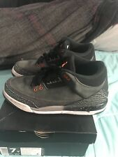 Air Jordan Retro 3 Fear Pack Size 7Y