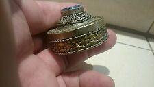Beautiful Solid Silver/B late Roman Byzantine box, please read description. L57b