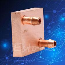 Copper Water Cooling Block For GPU CPU Radiator Heat Sink Cooled Liquid Heatsink