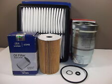 GENUINE HYUNDAI I30 FD SERIES 1.6L TURBO DIESEL FILTER PACK(OIL+AIR+FUEL FILTER)