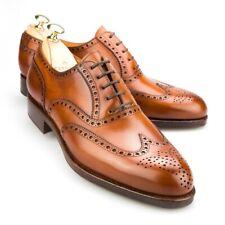 CARMINA Wingtip Oxford Forest Last 813 Brown Leather UK 8, US 8.5 $450