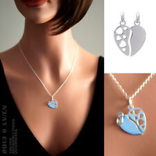 Pendentif Coeur sécable en ARGENT 925/000 NEUF - 1841900 - BigBang-Bijoux.com