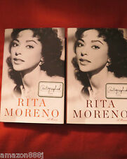 RITA MORENO, A MEMOIR**SIGNED**1ST/1ST**TONY, EMMY, OSCAR, GRAMMY AWARDS