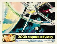 2001 A Space Odyssey Stanley Kubrick movie poster 24x31 inches