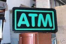 ATM LIGHTED SIGN, 115 VOLTS