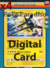 4x Vikavolt PROMO PLAYSET Pokemon TCG Online !! PTCGO Digital Card !!